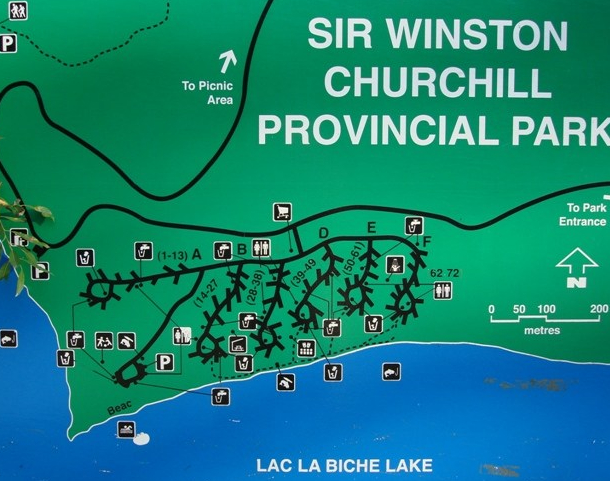 Sir Winston Churchill Campground 11515
